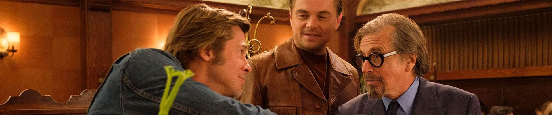 Once Upon a Time in Hollywood, Leonardo DiCaprio, Brad Pitt