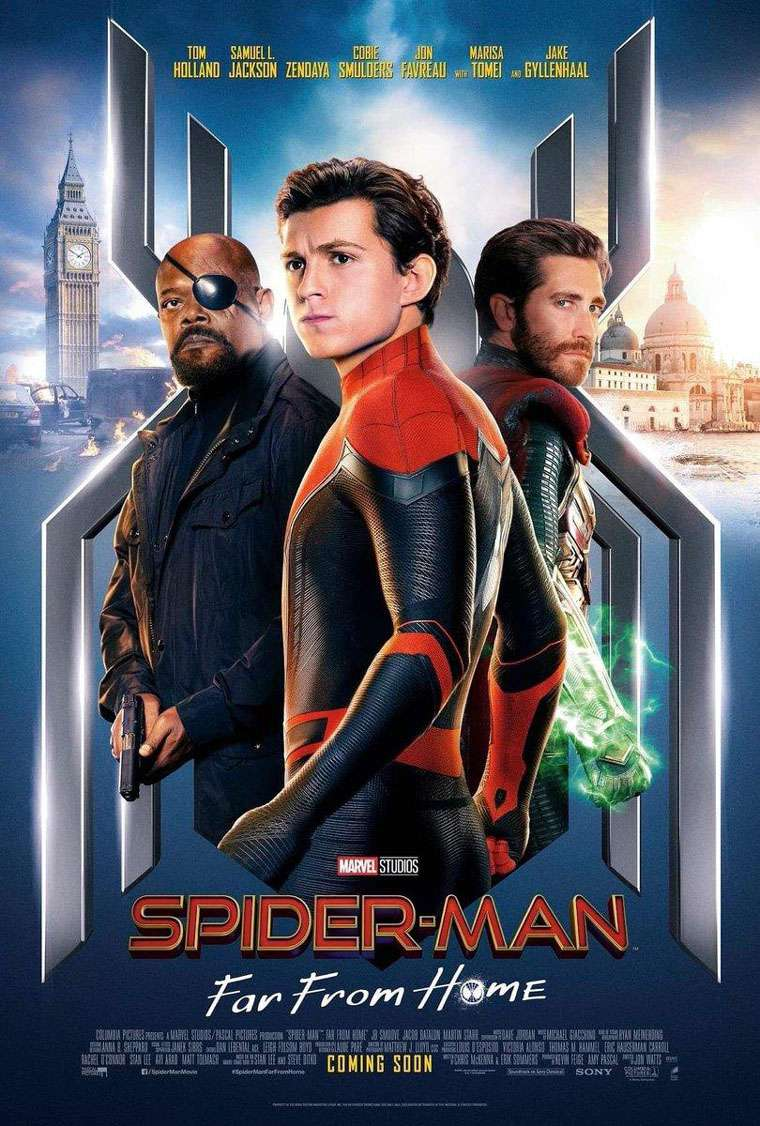 Far From Home, posters