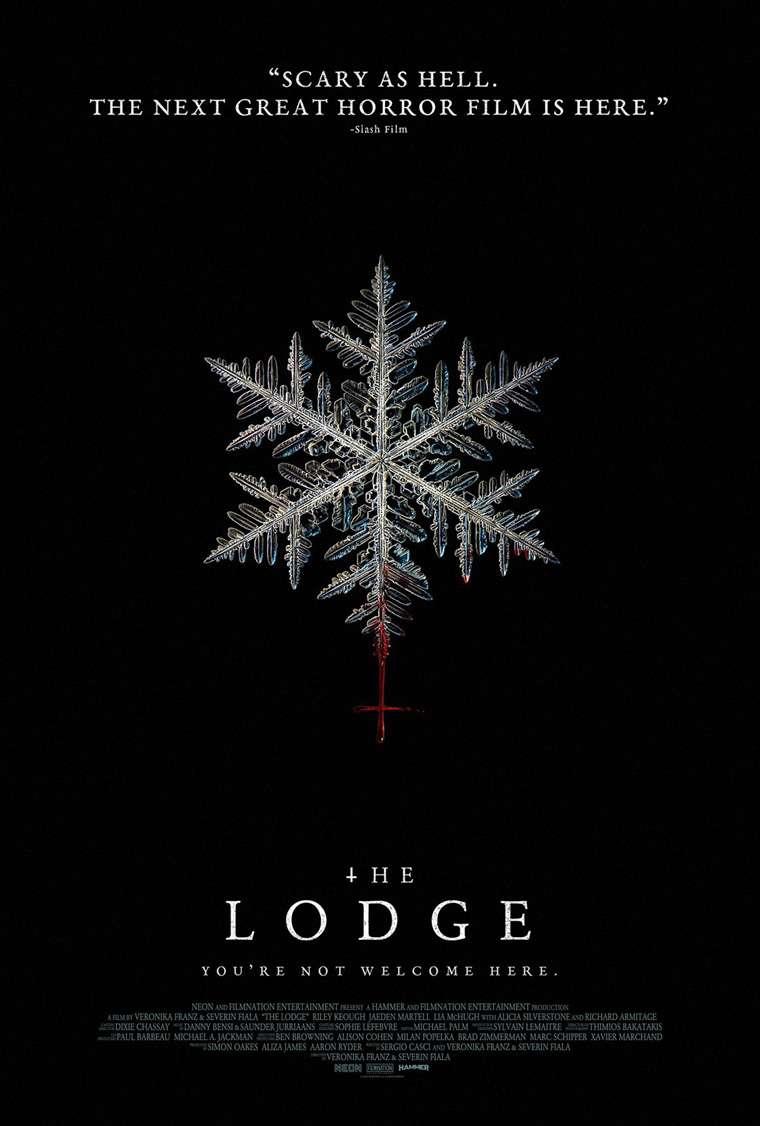 The Lodge, trailer, Riley Keough, Jaeden Martell