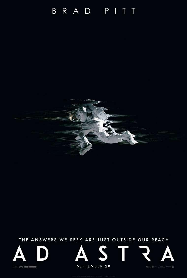 Ad Astra, Brad Pitt, James Gray, trailer, Hacia Las estrellas, poster