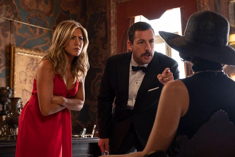 Murder Mystery, Netflix, Adam Sandler, Jennifer Aniston