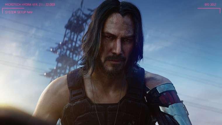 Keanu Reeves, Cyberpunk 2077