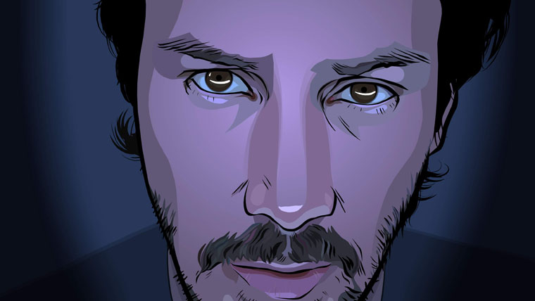 Keanu Reeves, A Scanner Darkly