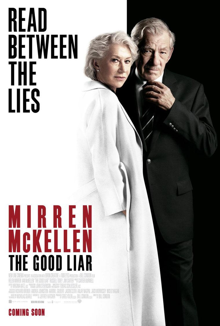 The Good Liar, poster, Ian McKellen, Helen Mirren, Bill Condon