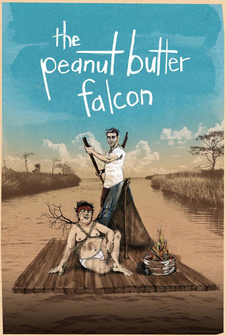 The Peanut Butter Falcon, trailer, Shia LaBeouf, Dakota Johnson, poster