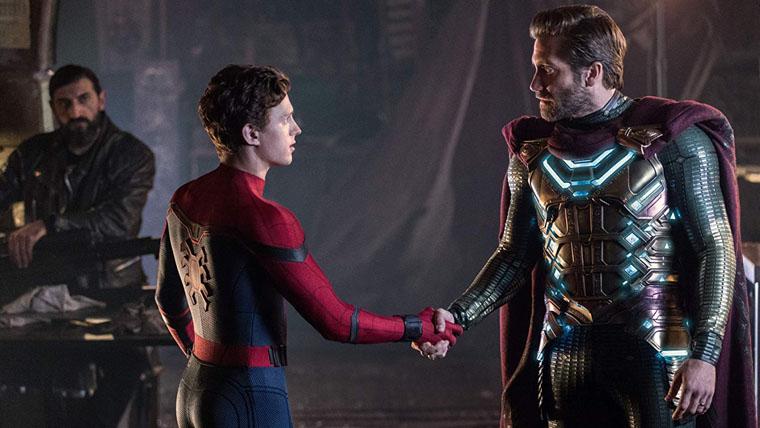 Spider-Man Far From Home, Tom Holland, Hombre Araña, Peter Parker, Mysterio, Jake Gyllenhaal
