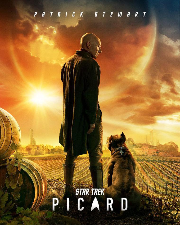 Star Trek: Picard, poster, Patrick Stewart