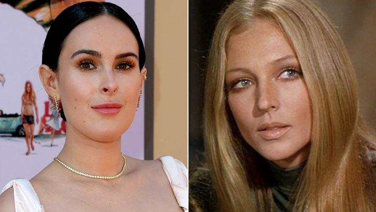Once Upon a Time in Hollywood, Rumer Willis, Joanna Pettet