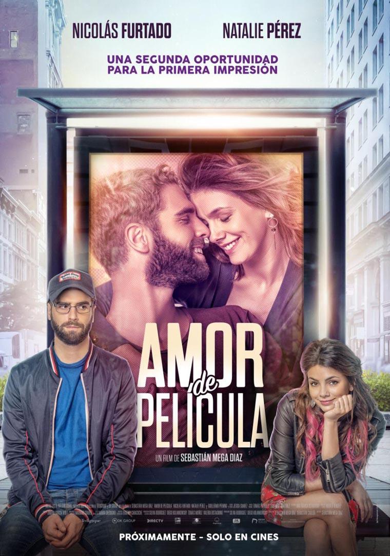 Amor de Película, Nicolás Furtado, Natalie Pérez