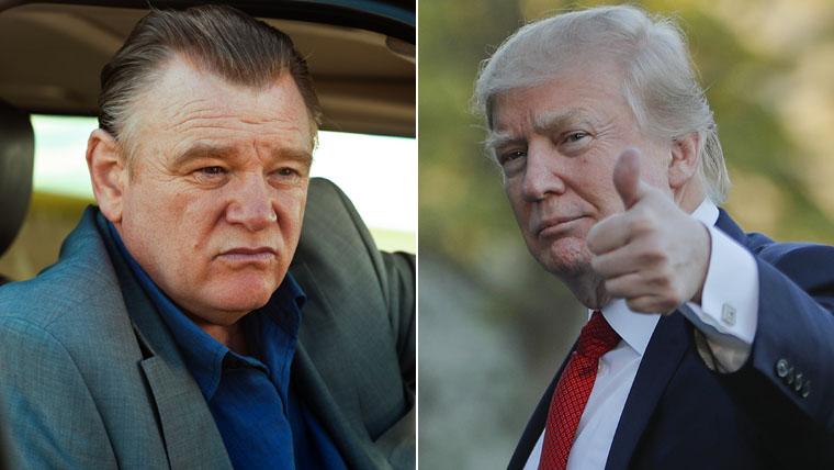 Brendan Gleeson, Donald Trump