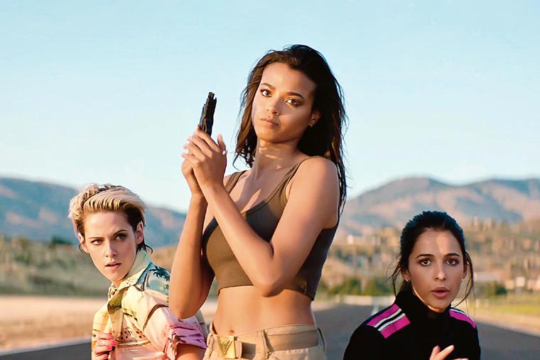 Charlie's Angels, Los Ángeles de Charlie, Naomi Scott, Kristen Stewart