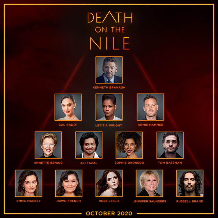 Death on the Nile, Kenneth Branagh
