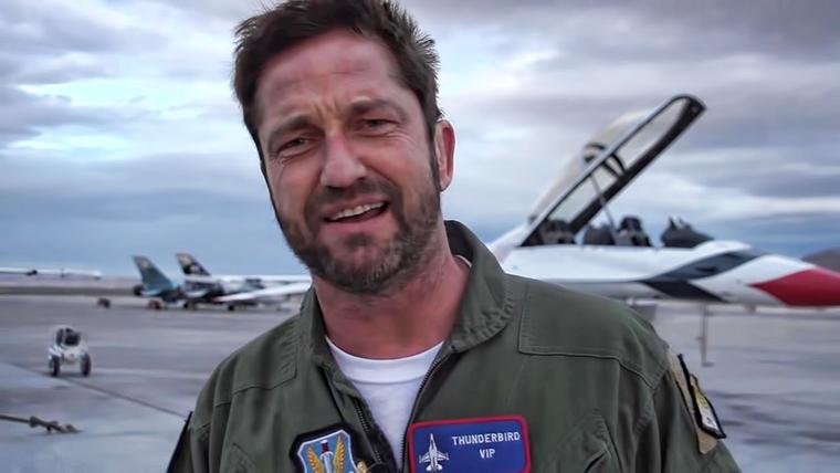 Gerard Butler, The Plane