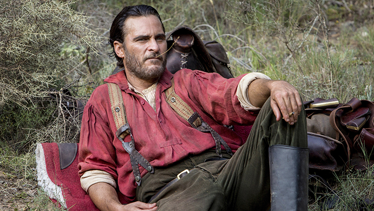 Joaquin Phoenix, The Sisters Brothers