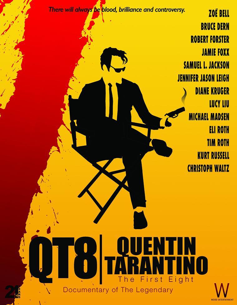 QT8: The First Eight, Quentin Tarantino