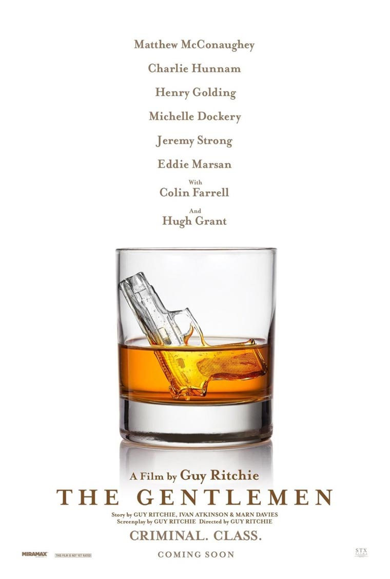 The Gentlemen, Guy Ritchie, Matthew McConaughey, poster