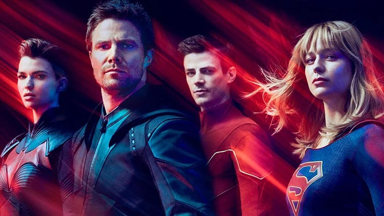 Crisis en Tierras Infinitas, Arrowverse, Crisis on Infinite Earths
