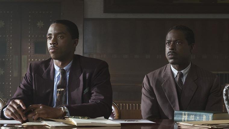 Chadwick Boseman, Marshall