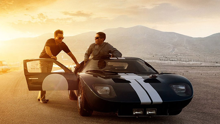 cine, autos, movies, cars, automovilismo, racing, Ford v Ferrari, Matt Damon, Christian Bale