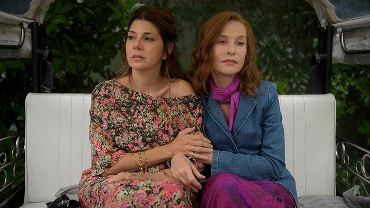 Frankie, Isabella Huppert, Marisa Tomei