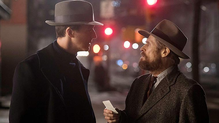 Motherless Brooklyn, Edward Norton, Willem Dafoe