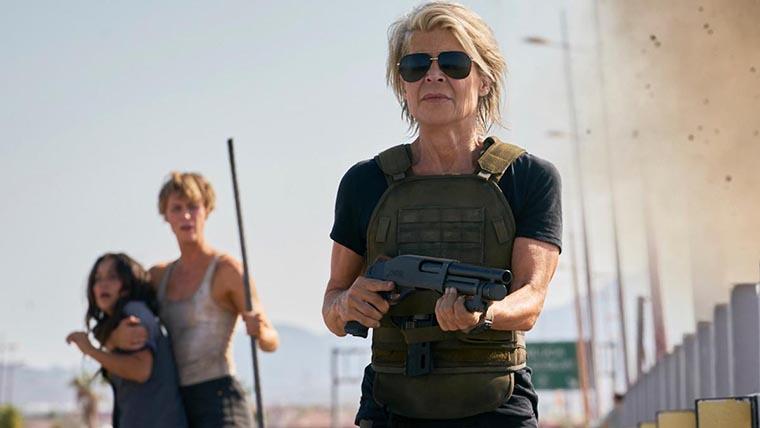 Terminator: Dark Fate, Linda Hamilton, Arnold Schwarzenegger, Sarah Connor, Terminator