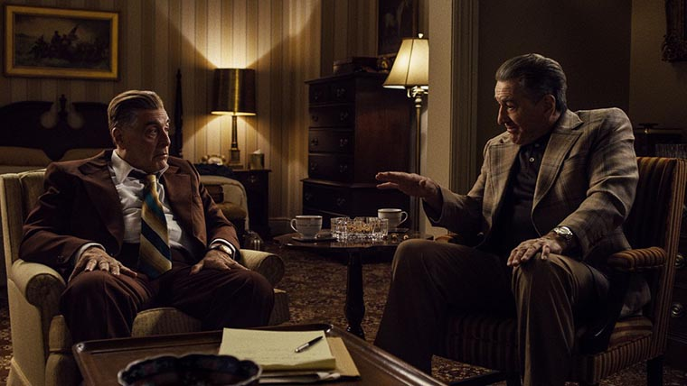 The Irishman, Martin Scorsese, Robert De Niro, Al Pacino