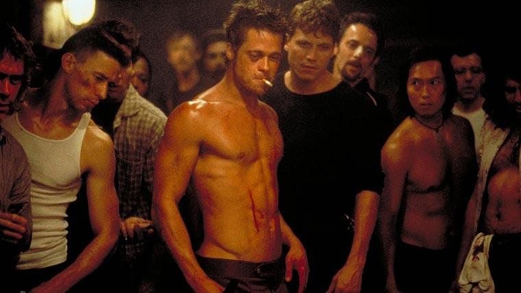 Fight Club, Brad Pitt, Holt McCallany, David Fincher