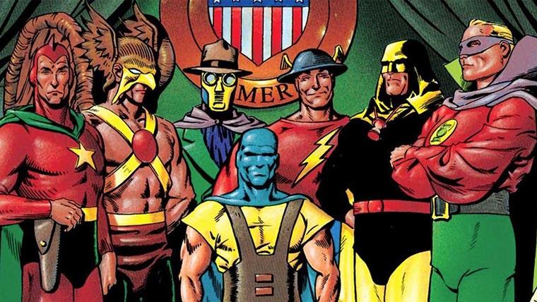 Sociedad de la Justicia de América, Black Adam, Justice Society of America