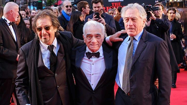 Martin Scorsese, Al Pacino, Robert De Niro, 2019