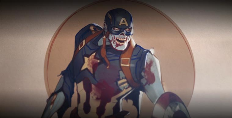 What If?, Marvel, Captain America, Steve Rogers, zombie