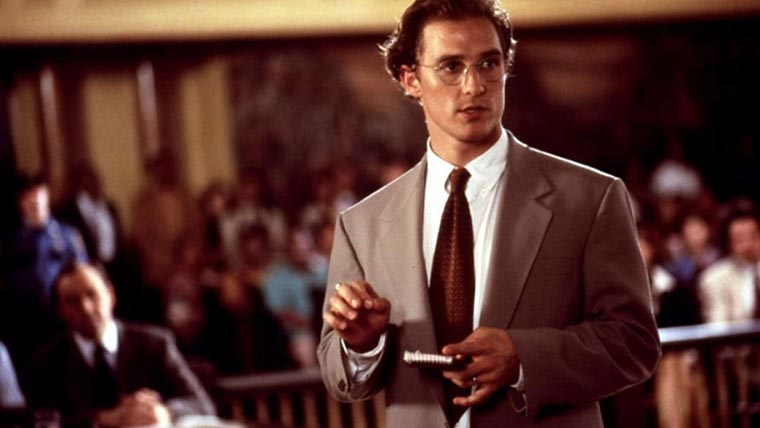 Matthew McConaughey, A Time to Kill