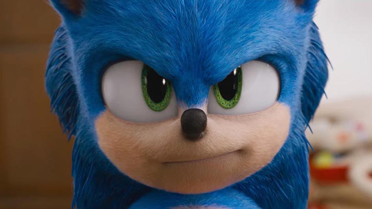 Sonic the Hedgehog, new look, new design, 2020, movie, film