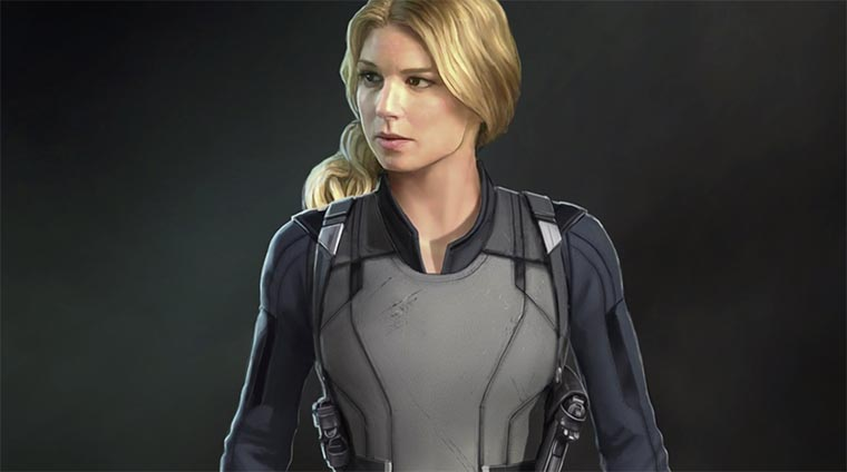 The Falcon & The Winter Soldier, Sharon Carter