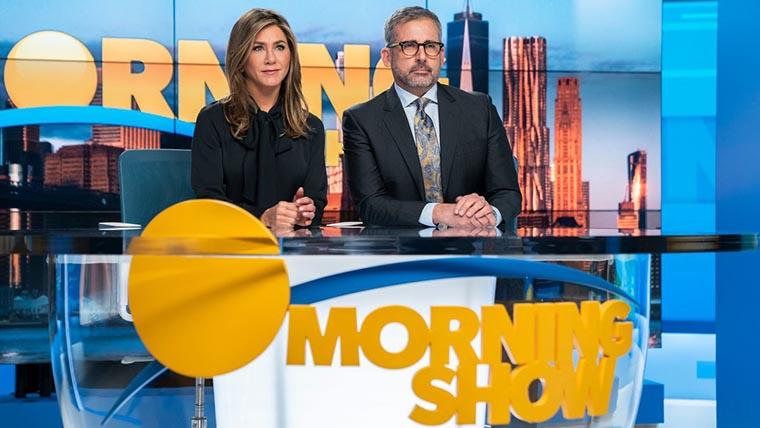 The Morning Show, Jennifer Aniston, Steve Carell