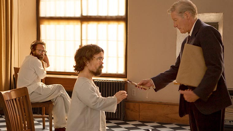 Three Christs, Peter Dinklage, Richard Gere