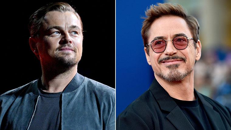 Leonardo DiCaprio, Robert Downey Jr.