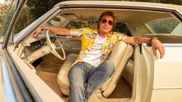 Once Upon a Time in Hollywood, Brad Pitt
