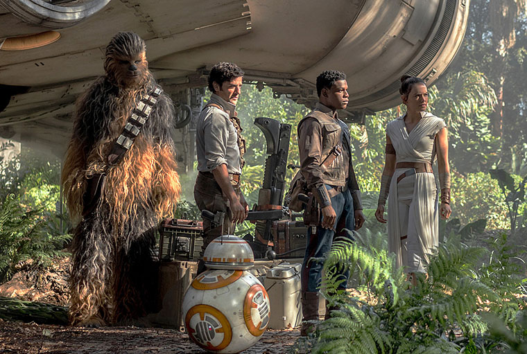 Star Wars: The Rise of Skywalker, El Ascenso de Skywalker, Rey, Daisy Ridley, Poe Dameron, Oscar Isaac, C3PO