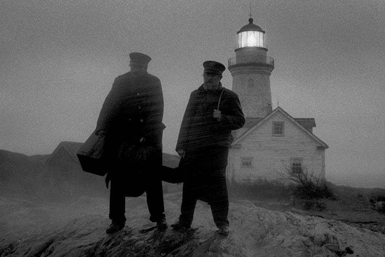 The Lighthouse, Robert Pattinson, Willem Dafoe