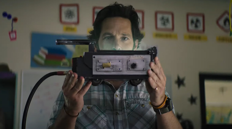 Ghostbusters: Afterlife, Paul Rudd, trailer