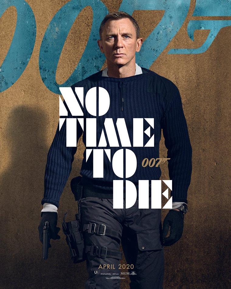 No Time to Die, poster, Daniel Craig