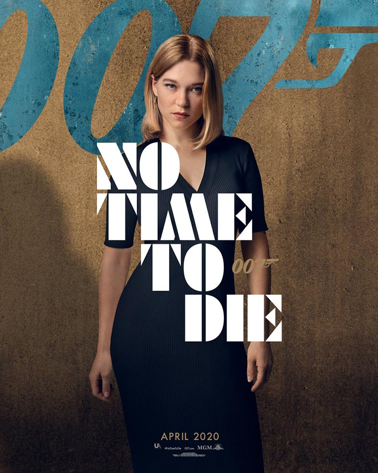 No Time to Die, poster, Lea Seydoux