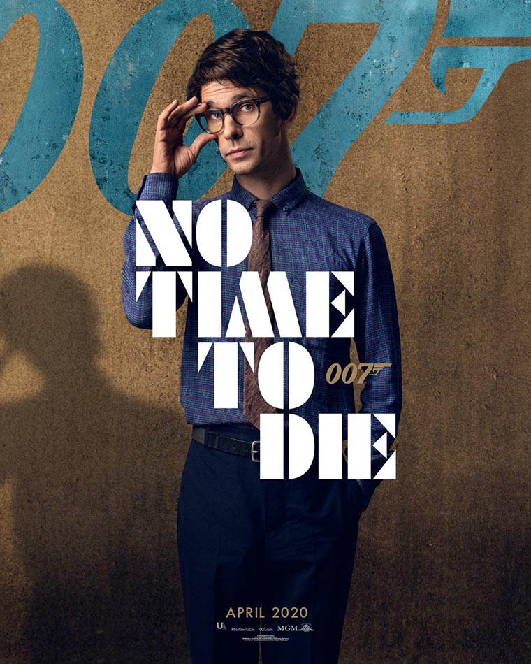 No Time to Die, poster, Ben Whishaw