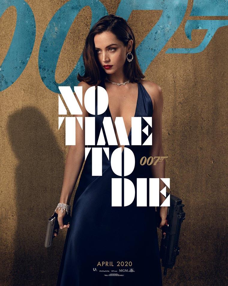 No Time to Die, poster, Ana de Armas