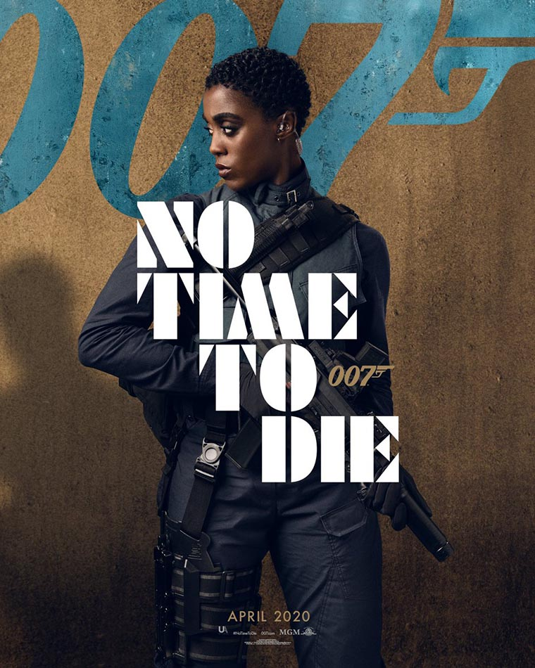 No Time to Die, poster, Lashana Lynch