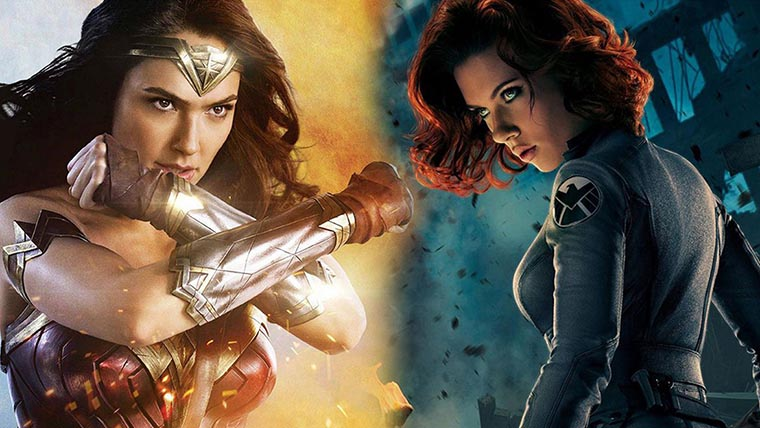 Wonder Woman, Black Widow