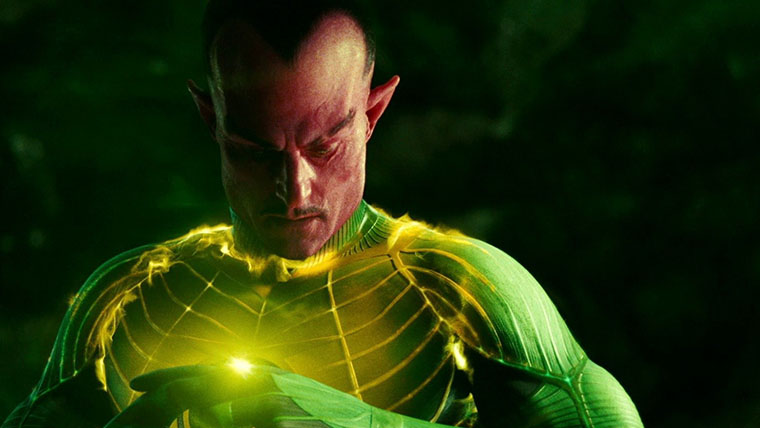 Sinestro, Mark Strong, Green Lantern