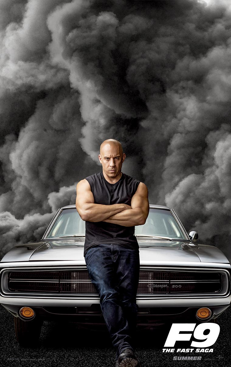 F9: The Fast Saga, Vin Diesel, Dominic Toretto, posters, poster, Fast & Furious 9