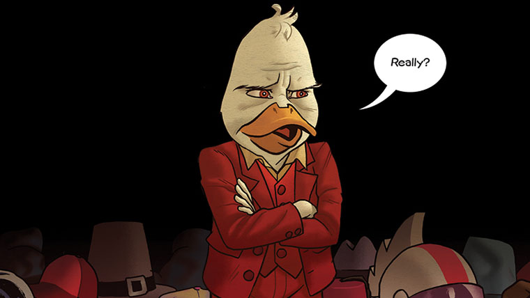 Howard the Duck, Tigra & Dazzler, Marvel